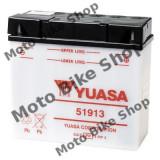 MBS Baterie moto 12V19AH / 51913 / Yuasa - fara electrolit, Cod Produs: 7070972MA