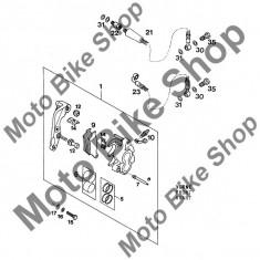MBS Set pistonase etrier fata KTM 125 E-GS 1994 #6, Cod Produs: 54613206000KT - Etrier frana Moto
