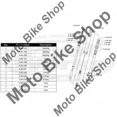 MBS Kit reparatie furca RM 125 2004-2007, Cod Produs: PWFFKS10021VP