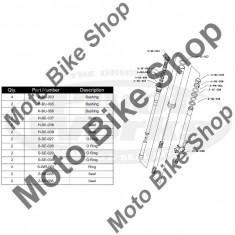 MBS Kit reparatie furca RM 125 2004-2007, Cod Produs: PWFFKS10021VP - Furca Moto