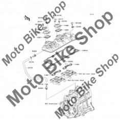 MBS Garnitura surub capac chiuloasa 2007 Kawasaki Ninja ZX-6R (ZX600-P7F) #92055, Cod Produs: 920550187KA - Chiulasa Moto