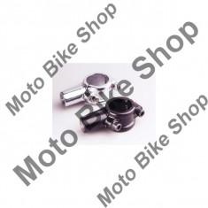 MBS Suport oglinda cromat, M10 x 1.25, filet dreapta, pentru ghidon D.22mm, Cod Produs: 10028890LO - Oglinzi Moto