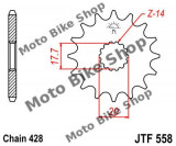 MBS Pinion fata Z17 428 Yamaha DT/TDR/XVS/YZ 125, Cod Produs: 7262934MA