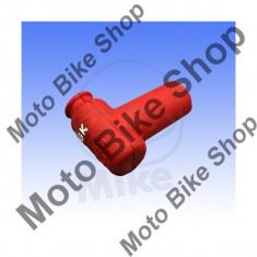 MBS Pipa bujie NGK Lb05emh-R, rosu, Cod Produs: 7085152MA - Pipe bujii Moto