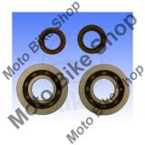 MBS Kit rulmenti + semeringuri ambielaj Aprilia SR 50 R LC Ditech Factory VFB00 2011, Cod Produs: 7563299MA