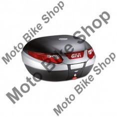 MBS Top case Givi E55 Maxia, negru mat, 55 L, Cod Produs: E55NAU - Top case - cutii Moto
