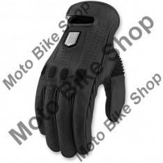 MBS Manusi piele Icon Prep, negru, XL, Cod Produs: 33012395PE