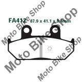 MBS Placute frana EBC Suzuki AN 400 Burgman, Cod Produs: 7320898MA