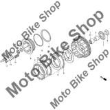 MBS Placa ambreiaj textolit 3 1996 Honda NIGHTHAWK 750 (CB750) #6, Cod Produs: 22201KY2000HO