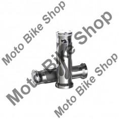 MBS Mansoane AL Flames, frezate CNC, ghidon D.22, Cod Produs: 10019488LO - Mansoane Moto