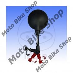 MBS Oglinda universala M10, SX /DX, neagra, Cod Produs: 7137284MA - Oglinzi Moto