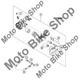 MBS Set sigurante etrier KTM 250 EXC RACING 2003 #6, Cod Produs: 54613311200KT