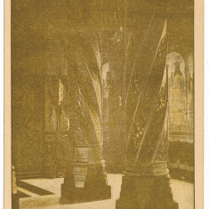 2282 - Arges, CURTEA DE ARGES, Manastirea, interiorul - old postcard - unused - Carte Postala Muntenia dupa 1918, Necirculata, Printata