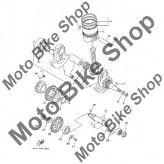MBS Piston STD 2001 Yamaha 660R RAPTOR (YFM660RN) #11, Cod Produs: 3YF1163100X0YA - Pistoane - segmenti Moto