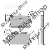 MBS Placute frana Yamaha YZ 125 spate, Cod Produs: 225101450RM