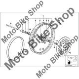 MBS Spita SX roata fata L=226,5MM 1999-2003 BMW F650GS 01-04 (R13) #6, Cod Produs: 36312345819BM