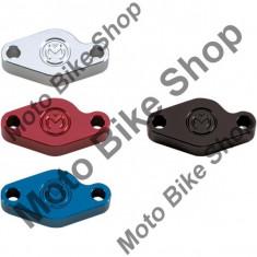 MBS Placa etrier spate Moose Racing, albastru, pentru majoritatea Quad-urilor, Cod Produs: M88057PE - Etrier frana Moto