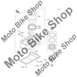MBS Set segmenti STD 2007 Kawasaki Ninja 250R (EX250-F7F) #13008, Cod Produs: 130080025KA