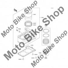MBS Set segmenti STD 2007 Kawasaki Ninja 250R (EX250-F7F) #13008, Cod Produs: 130080025KA - Pistoane - segmenti Moto