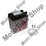 MBS Baterie moto YB10L-B 12V10Ah Yuasa, fara electrolit, Cod Produs: 7070600MA
