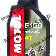 MBS Ulei Motul 5100 4T 15W50 1L, Cod Produs: 104080 - Ulei motor Moto