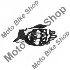 MBS Manusi piele Alpinestars SM GPX, negru-alb, L=10, Cod Produs: 356701312LAU