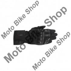 MBS Manusi impermeabile piele Alpinestars Valparaiso Drystar, negru, M=9, Cod Produs: 352601410MAU
