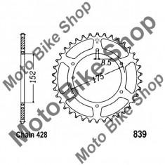 MBS Pinion spate 428 Z57, Cod Produs: 7275746MA - Pinioane transmisie Moto