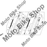 MBS Semering praf telescop 1988 Honda SHADOW 800 (VT800C) #27, Cod Produs: 91254463003HO