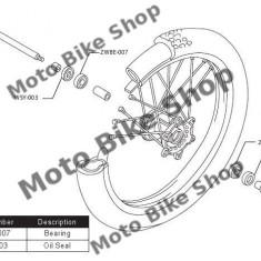 MBS Kit rulmenti roata fata Yamaha, Cod Produs: PWFWKY07421VP - Kit rulmenti roata fata Moto