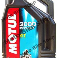 MBS Ulei Motul 3000 4T 20W50 4L, Cod Produs: 104050 - Ulei motor Moto