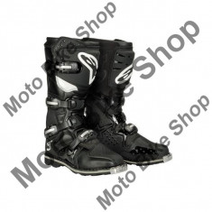 MBS Cizme enduro Alpinestars TECH3, negru, 7=40.5, Cod Produs: 201317107AU - Cizme Moto