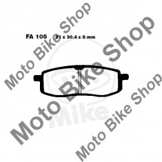 MBS Placute frana EBCTT FA105 Yamaha TT/YZ, Cod Produs: 7370638MA - Piese electronice Moto