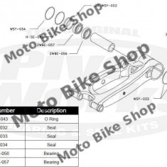 MBS Kit rulmenti+semeringuri roata spate Yamaha YFM 700 RAPTOR, Cod Produs: PWRWKY30700VP - Kit rulmenti roata spate Moto