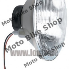 MBS Sticla+ oglinda far H4, 180 mm, Cod Produs: 10033107LO - Far Moto