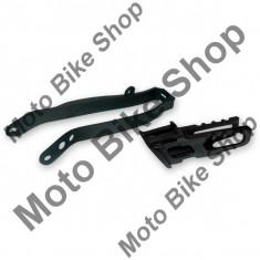 MBS Kit patina lant + ghidaj lant CRF 250/CRF 450 2009/10, rosu, Cod Produs: HO04645070 - Kit lant transmisie Moto