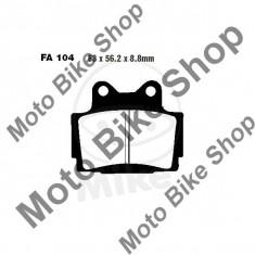 MBS Placute frana EBC FA104 Yamaha FRZ/FZS/RD/SRX/TZR/XJ/XJR, Cod Produs: 7328479MA - Piese electronice Moto