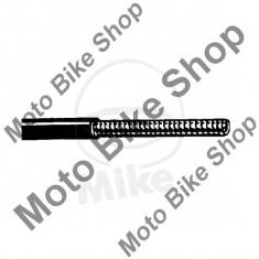 MBS Teaca cablu D.3.5, pentru cablu de 3mm, rola 10m, negru, Cod Produs: 7313109MA - Accesorii Cabluri Moto