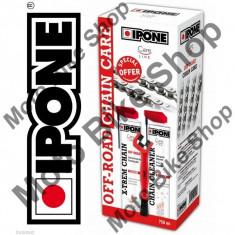 MBS Set intretinere lant Ipone Off-Road, Cod Produs: 800737IP - Sprayuri lant - pana Moto
