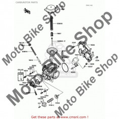MBS Membrana carburator Kawasaki VN 800, Cod Produs: 430280016KA - Ambreiaj Moto