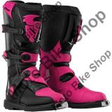 MBS Cizme motocross fete Thor Blitz S6, roz/negru, 39, Cod Produs: 34101482PE