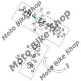 MBS Ax pompa apa KTM 620 LC4/EXC/SX 640 LC4/Duke, Cod Produs: 54435010000KT