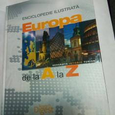 EUROPA DE LA A LA Z - ENCICLOPEDIE ILUSTRATA - Reader's Digest