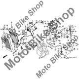 MBS Buson radiator 1996 Honda SHADOW VLX (VT600C) #9, Cod Produs: 19045MY3621HO