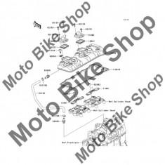 MBS Garnitura capac chiuloasa 2009 Kawasaki Ninja ZX-6R (ZX600-R9F) #11061, Cod Produs: 110610374KA - Chiulasa Moto