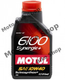 MBS Ulei Motul 6100 Synergie+ 10W40 1L, Cod Produs: 102781