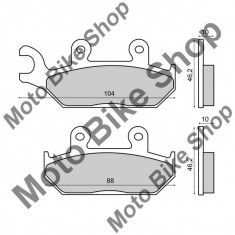 MBS Placute frana (Sinter) Yamaha XTZ 660 Tenere 1991-1996, Cod Produs: 225103203RM
