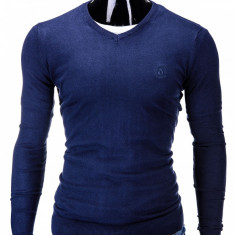 Bluza barbati E74 Bleumarin, Marime: S, M, L, XL, XXL, Anchior, Bumbac