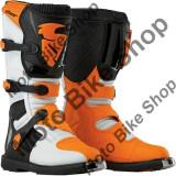 MBS Cizme motocross S5 Blitz CE alb/negru/portocaliu marimea 44.5, Cod Produs: 34101454PE