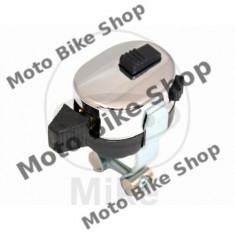 MBS Comutator 3 pozitii + 2 butoane - pt. ghidon 22mm, Cod Produs: 7040074MA - Intrerupator Moto